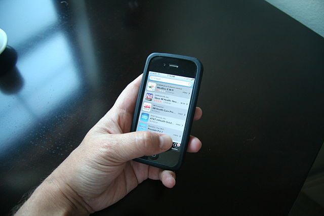 Smartphone metadata can reveal significantly more sensitive personal information than was previously thought. Image credit: Intel Free Press via Wikimedia.org, CC BY 2.0.