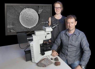 Analysis of space dust samples revealed that Earth's atmosphere had much more oxygen at the top levels than previously believed. Image credit: monash.edu.