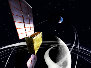 EQUULEUS (EQUilibriUm Lunar-Earth point 6U Spacecraft) will measure the distribution of plasma that surrounds the Earth to help scientists understand the radiation environment in the region of space around Earth. It will also demonstrate low-energy trajectory control techniques, such as multiple lunar flybys, within the Earth-Moon region. Credits: JAXA/University of Tokyo