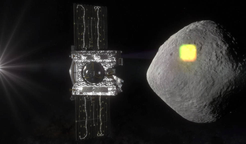 The mapping of the near-Earth asteroid Bennu is one of the science goals of NASA's OSIRIS-REx mission, and an integral part of spacecraft operations. The spacecraft will spend a year surveying Bennu before collecting a sample that will be returned to Earth for analysis. Credits: NASA/Goddard/University of Arizona