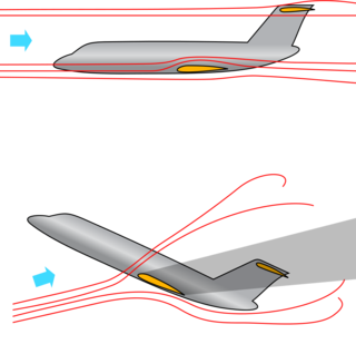 An aircraft with a T-tail empennage in normal flight (top) versus one in a deep stall condition (bottom). One of NASA Langley Research Center's goals for its PTERA Generic Modular Aircraft T-Tail, or GMA-TT, is to flight-test stalls and recovery maneuvers to improve simulators used for pilot training. Credits: Area-I Inc.