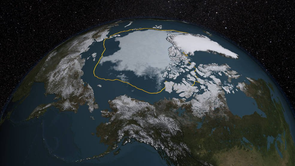 NASA Langley researcher Patrick Taylor finds that the role of clouds and sea ice for Arctic climate change may be more complex than previously thought. Using fused CALIPSO-CloudSAT satellite observations spanning 2006 to 2010, he's shown that cloud concentrations differed between ocean and sea ice much less than expected in summer. Credits: NASA