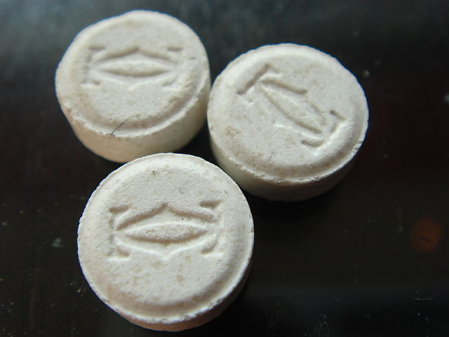 MDMA, or ecstasy, will be the first drug scientists research using the new brain probe. Image credit: Willy Turner via Wikimedia, Public Domain