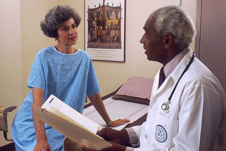 Mini-stroke patients consult doctors much more frequently for fatigue, cognitive impairment and anxiety or depression than people of their age, who do not have history of this condition. Image credit: Bill Branson, NIH via Wikimedia, Public Domain