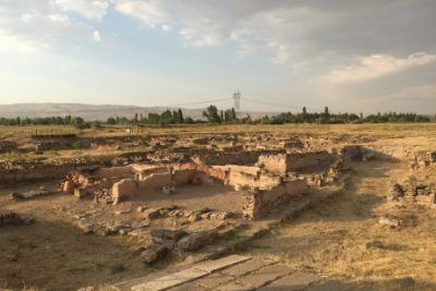 One of the complexes of Kültepe Lower Town II in Turkey, where an archive of more than 23,000 documents on clay tablets provides historical data on many aspects of the Old Assyrian period. Credit: Sturt Manning