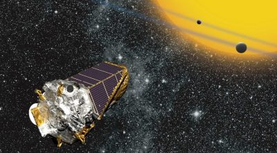 The Kepler spacecraft Image credit: NASA