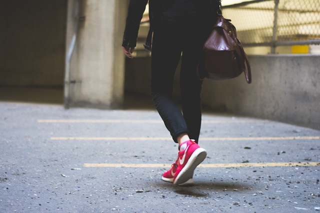 Walking for an hour a day may be enough to eliminate the harmful effects of prolonged sitting. Image credit: Unsplash via pixabay.com, CC0 Public Domain.
