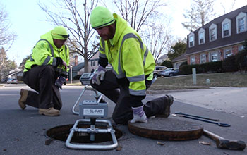 Tech uses sound waves to find clogged city sewer pipes