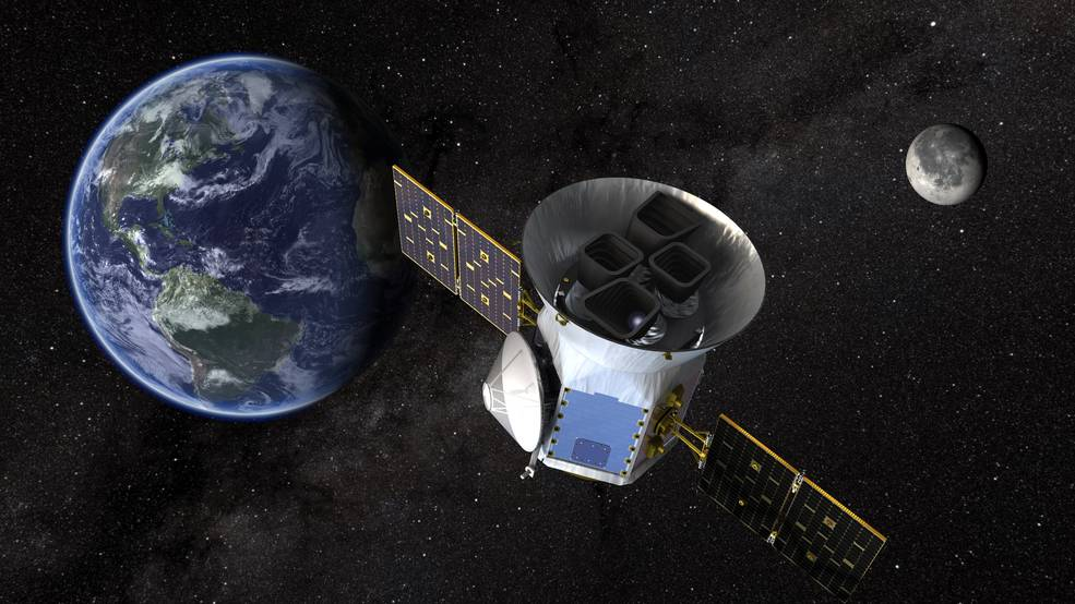 TESS will look at the nearest, brightest stars to find planetary candidates that scientists will observe for years to come. Credits: NASA's Goddard Space Flight Center