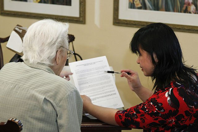 While assisted-living facilities provide a sense of security and wellbeing, they fail to assure the right to sexuality. Image credit: Daniel Sone, NIH via Wikimedia, Public Domain