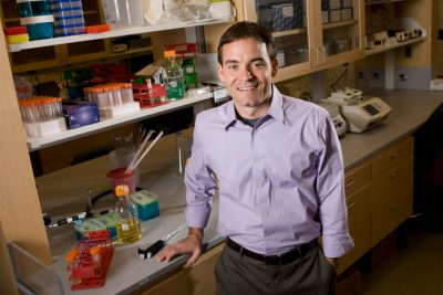 Charles Gersbach, the Rooney Family Associate Professor of Biomedical Engineering and director of the Center for Biomolecular and Tissue Engineering at Duke University. Credit: Duke University