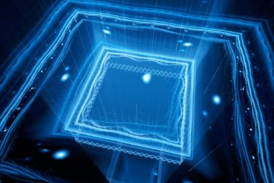 Researchers from MIT and MIT Lincoln Laboratory report an important step toward practical quantum computers, with a paper describing a prototype chip that can trap ions in an electric field and, with built-in optics, direct laser light toward each of them.