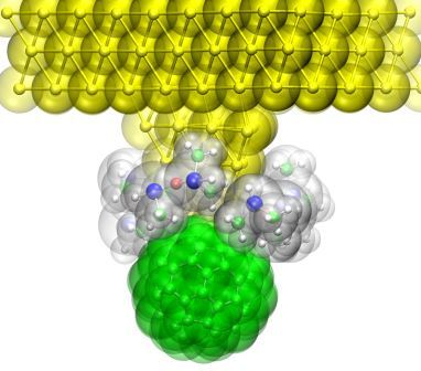Molecular probe in liquids. Image courtesy of the researchers.