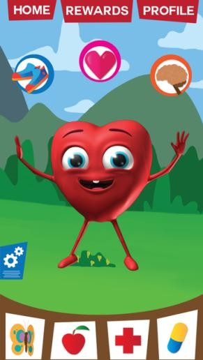 MyHeartMate app is a fun way to take care of your heart, because it involves users into games and real-world challenges. Image credit: sydney.edu.au.