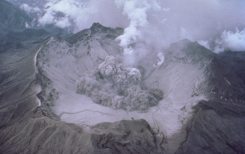 Mount Pinatubo's 1991 eruption and its effects masked sea level rise. Image credit: USGS