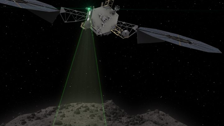 NASA Asteroid Redirect Mission Completes Design Milestone Graphic depicts the Asteroid Redirect Vehicle conducting a flyby Animation of ARM spacecraft This graphic depicts the Asteroid Redirect Vehicle conducting a flyby of its target asteroid. During these flybys, ARM would come within 0.6 miles (1 kilometer), generating imagery with resolution of up to 0.4 of an inch (1 centimeter) per pixel. Image credit: NASA