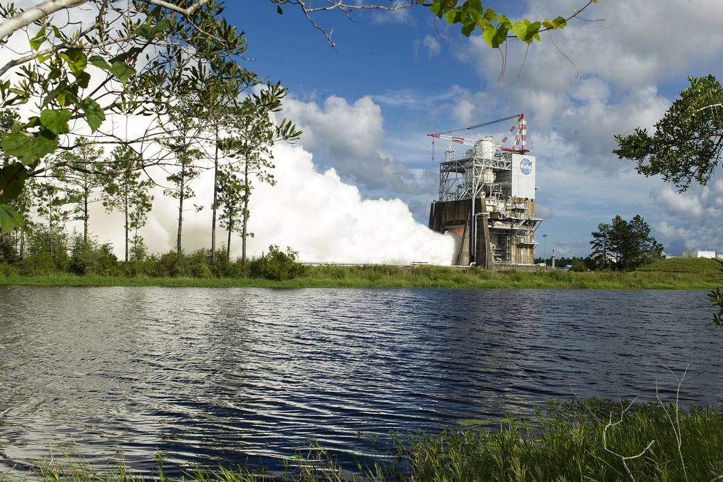 NASA Continues Progress on the Journey to Mars with Latest RS-25 Rocket Engine Test