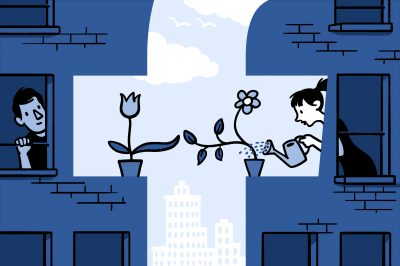 A new study by CMU and Facebook researchers shows that personal interactions on Facebook can have a major impact on a person's feelings of well-being and satisfaction with life just as much as getting married or having a baby.