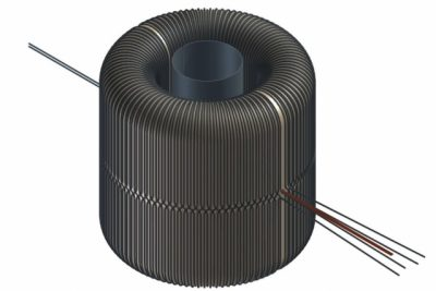 ABRACADABRA (A Broadband/Resonant Approach to Cosmic Axion Detection with an Amplifying B-field Ring Apparatus), consists of a series of magnetic coils, wound in the shape of a toroid, or donut, which is then encased in a layer of superconducting metal and kept at temperatures just above absolute zero. The scientists plan to use a highly sensitive magnetometer, placed inside the donut hole, to detect any signs of axions' influence. Image credit: Daniel Winklehner