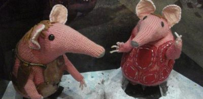 Clangers. Credit: diamond geezer