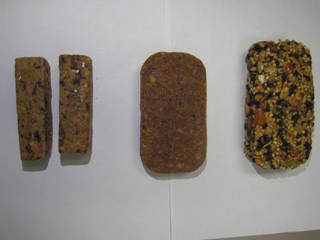 To help reduce the amount of supplies Orion will carry for its crew, scientists are developing a variety of food bars that astronauts can eat for breakfast during their spaceflight missions. Credits: NASA