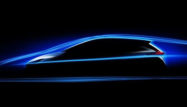 Nissan Leaf teased with new aerodynamics