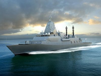 Type 26 Global Combat Ship for Australia