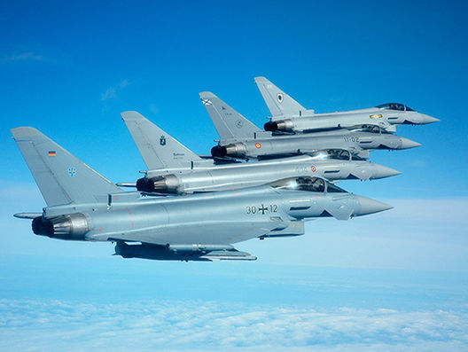 eurofighter planes