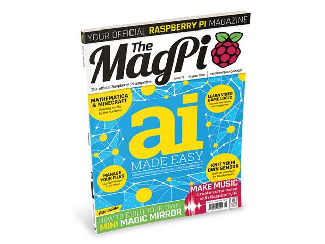 MagPi 72: AI made easy for your Raspberry Pi | Technology Org