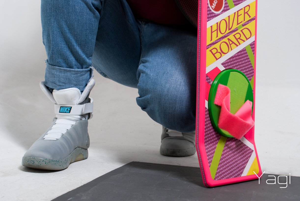 """Hoverboard from """"Back to the Future"""". Image credit: Ricardo 清介 屋宜"""
