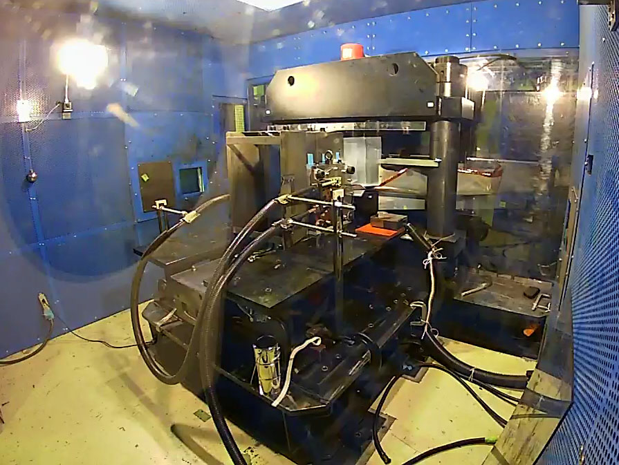 The megagauss generator just before it's switched on. Some parts for the device are exceedingly rare and very few companies around the world are capable of producing them. Image: Image credit: 2018 Shojiro Takeyama
