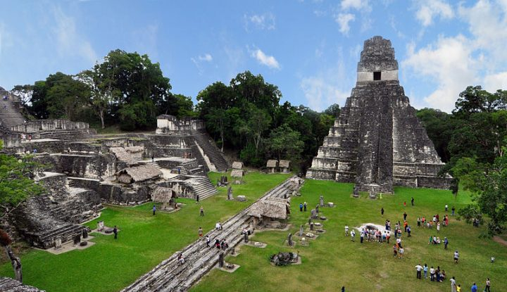 Maya civilization flourished for 2500 years in southern Mexico, Guatemala and Belize, but its location in an inaccessible forest has complicated efforts to fully understand it. The LiDAR survey revealed new information about the Maya's interconnected urban settlement and extensive infrastructure. Image credit: chensiyuan via Wikimedia, CC-BY-SA-4.0