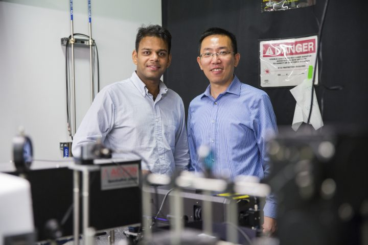 Argawal and Feng will produce advanced quantum circuits that use a single photon to generate and process quantum signals.
