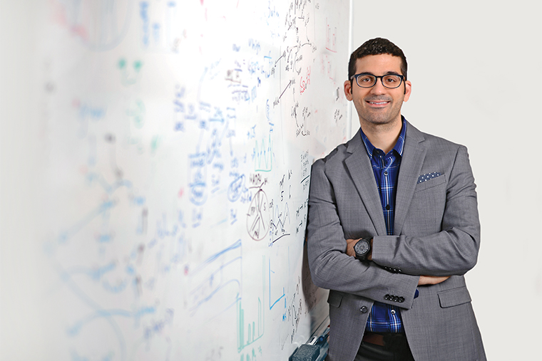 Gary Patti of Arts & Sciences is working to lower some of the barriers to entry for use of the powerful modern tools of metabolomics. (Photo: James Byard, Washington University)