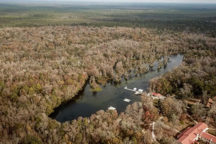 The world's largest and deepest freshwater spring is experiencing an unwelcome change. Image credit: FSU