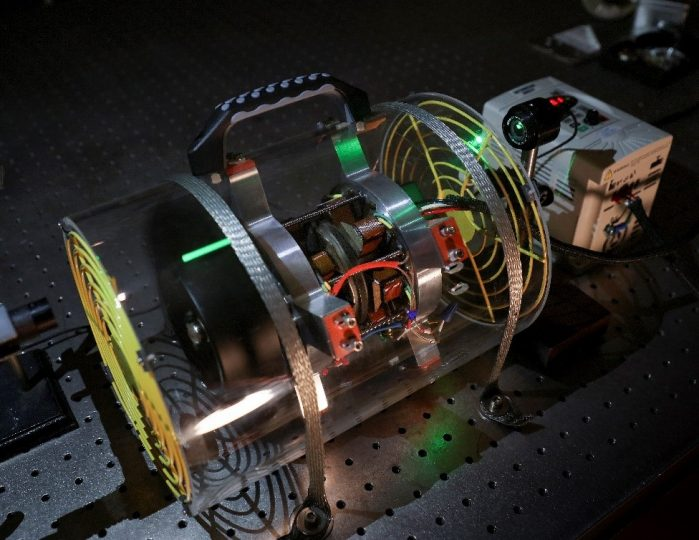 In work funded by the DOE Critical Materials Institute, ORNL researchers are demonstrating how rare earth permanent magnets can be harvested from used computer disk drives and repurposed in an axial gap motor. Credit: Jason Richards/Oak Ridge National Laboratory, U.S. Dept. of Energy