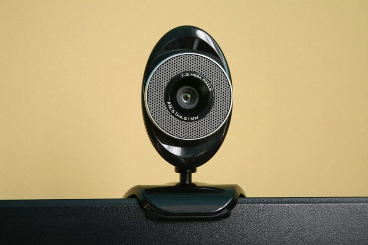 A webcam. Image credit: Aksa2011 via Pixabay, CC0 Public Domain