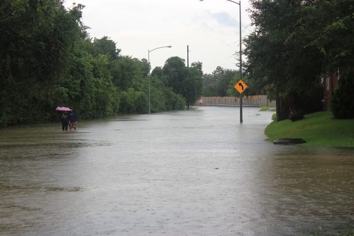 Flood after the hurricane. Image credit: andrewtheshrew via Pixabay, CC0 Public Domain