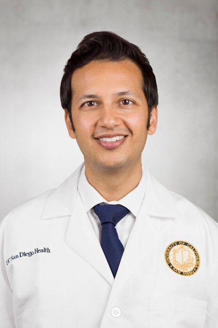 Veeral Ajmera, MD, hepatologist at UC San Diego Health and assistant professor of medicine at UC San Diego School of Medicine. Credit: UC San Diego