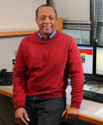 Walter Suza hopes a review of 58 scientific studies related to Bt corn and biotechnology will encourage more African nations implement technology capable of helping farmers combat emergent pests such as the fall armyworm. Photo by Bob Elbert.