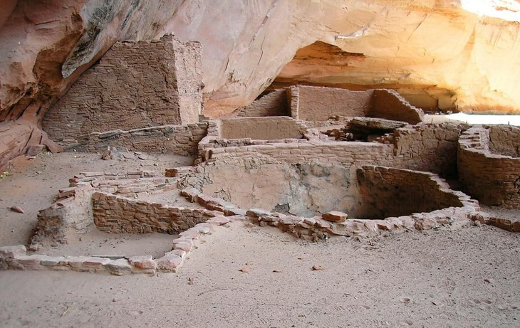 Ancient inhabitants of the Antelope House ruin, in Arizona's Canyon de Chelly National Monument, grew crops such as maize, beans and squash. Image credit: National Park Service