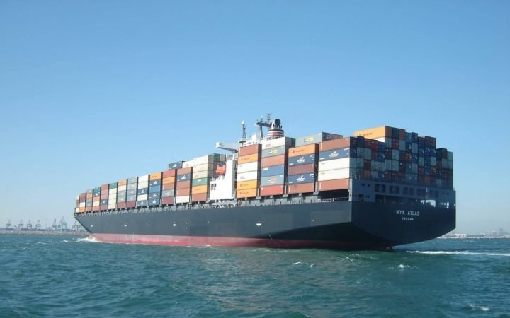 Container ship. Image credit: pxhere.com, CC0 Public Domain