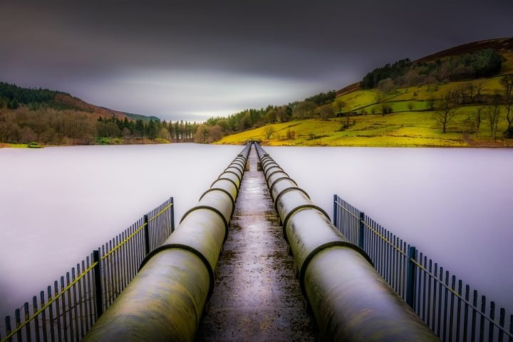 Pipeline for drinking water. Image credit: TimHill via Pixabay, CC0 Public Domain