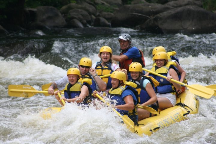 Rafting is one of examples of risky activities. Image credit: pxhere.com, CC0 Public Domain