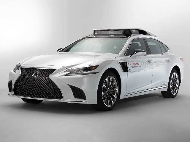 Next-generation workhorse derived from all-new Lexus LS 500h flagship joins automated test fleet in spring. Image credit: Toyota