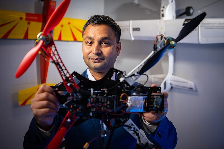 Rahul Rai, PhD, associate professor of mechanical and aerospace engineering in UB's School of Engineering and Applied Sciences. Image credit: Douglas Levere, University at Buffalo.