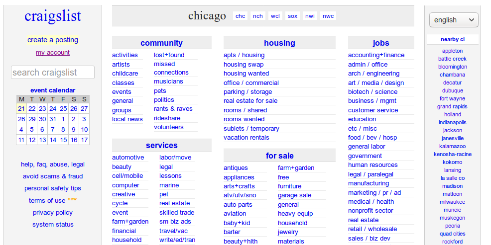 What Everybody Ought To Know About Craigslist Proxies | Technology Org