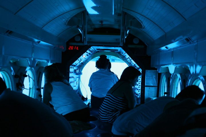Could submarines have windows? Don't start telling us about the