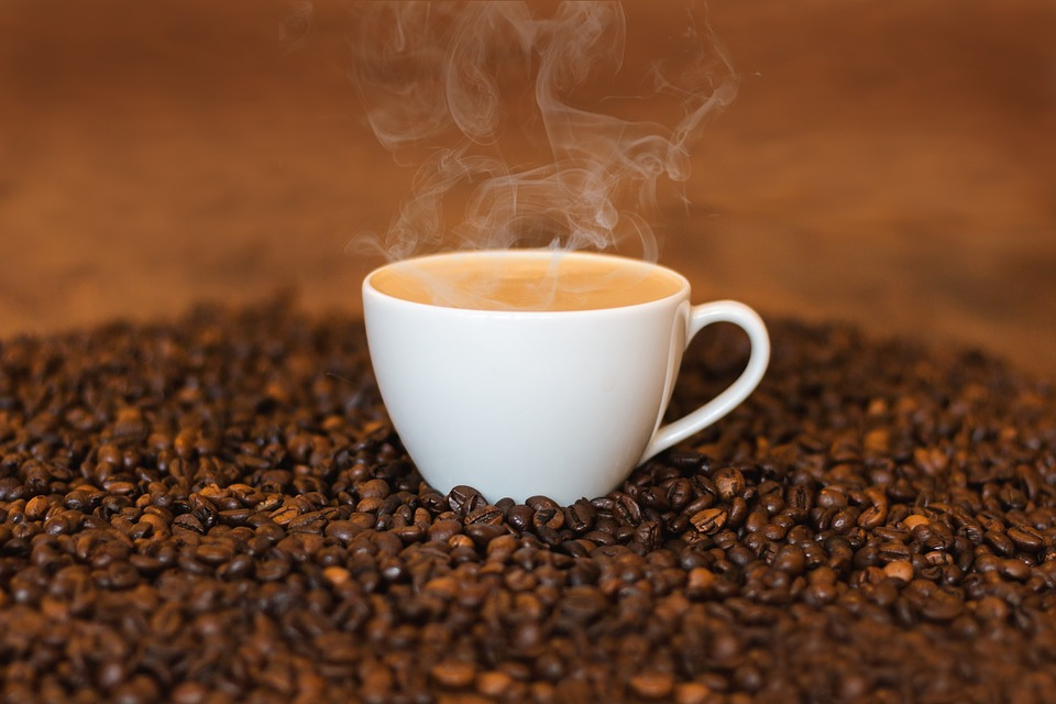 A cup of coffee. Image credit: fxxu | Free image via Pixabay