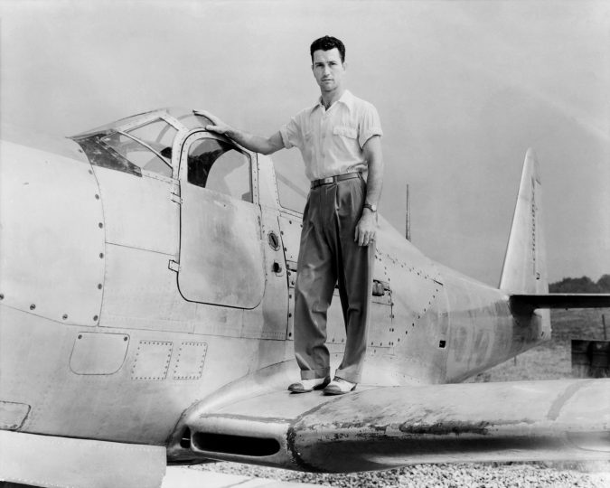 """Howard C. """"Tick"""" Lilly was the first NACA engineering pilot assigned to the Muroc Flight Test Unit, now known as NASA Armstrong. He also was the first pilot who died on a research mission. Credits: NACA / NASA"""